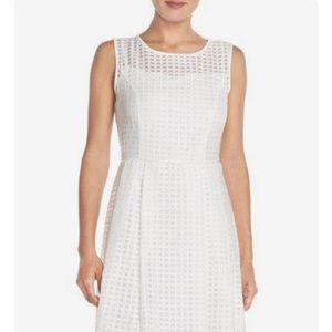 Beautiful Ellen Tracy White Dress